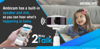 Benefits of using AMBICAM for Home Security