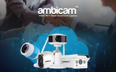 ambicam – Smart Cloud CCTV Camera with FHD Video, Cloud Storage, Local Storage up to 30 Days, Do it yourself and Clear Night Vision.