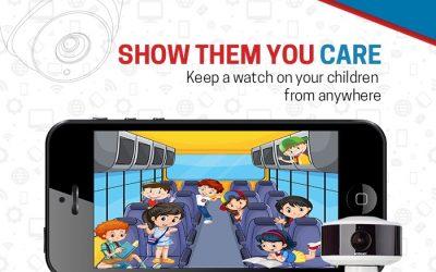Security CCTV Camera in School Bus Surveillance System