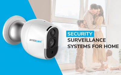 Security surveillance systems for home