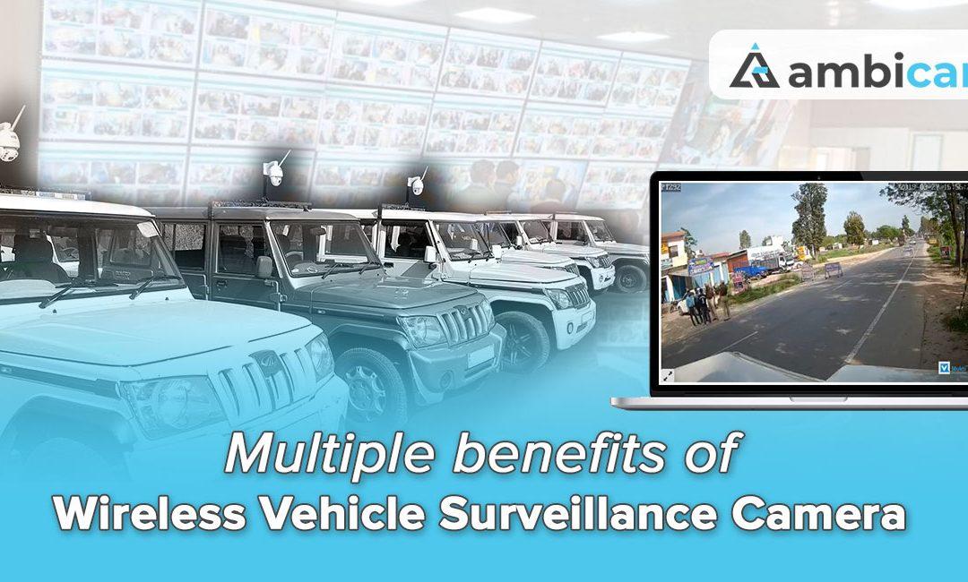 Wireless Vehicle Surveillance Camera